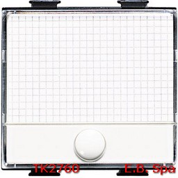 matix - pulsante targa portanome - BTICINO S.P.A TK2760