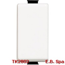 Invertitore basculante Bticino Matix 1P 16 A colore bianco 1 modulo - BTICINO S.P.A TK2802