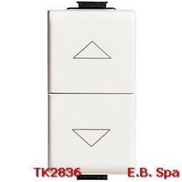 matix - pulsante doppio interblocco - BTICINO S.P.A TK2836