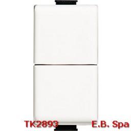 matix - pulsante doppio 1P NO - BTICINO S.P.A TK2893