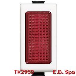 matix - portalampada colore rosso - BTICINO S.P.A TK2950