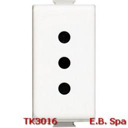 matix - presa di corrente 10A - BTICINO S.P.A TK3016