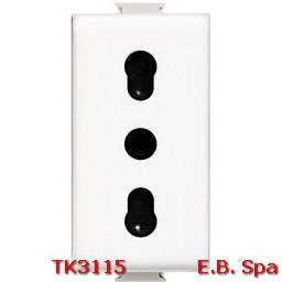 matix - presa di corrente 10/16A - BTICINO S.P.A TK3115