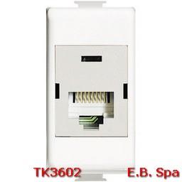btnet - matix RJ45 110IDC UTP cat5E - BTICINO S.P.A TK3602