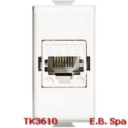 btnet - matix RJ45 UTP cat5E - BTICINO S.P.A TK3610
