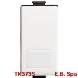 matix - pulsante 1P 10A NO illuminabile - BTICINO S.P.A TK3735