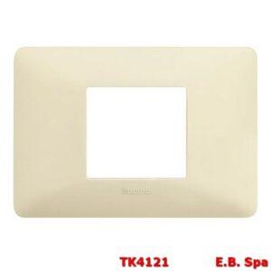matix - placca 2p centrati avorio - BTICINO S.P.A TK4121