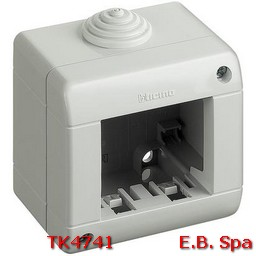 idrobox matix - custodia IP40 2p - BTICINO S.P.A TK4741