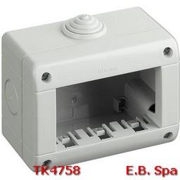 idrobox matix - custodia IP40 3p - BTICINO S.P.A TK4758