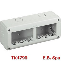 idrobox matix - custodia IP40 6P - BTICINO S.P.A TK4790