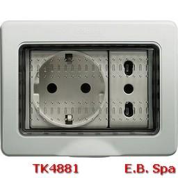 idrobox matix - custodia IP55 3P - BTICINO S.P.A TK4881