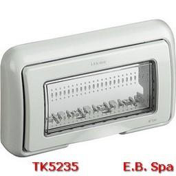 idrobox matix - coperchio IP55 4P grigio - BTICINO S.P.A TK5235