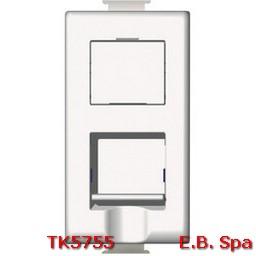btnet - matix RJ45 toolless UTP cat5E - BTICINO S.P.A TK5755