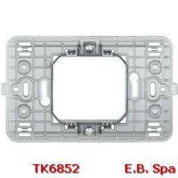 matix - supporto 2 mod centr scatola tonda - BTICINO S.P.A TK6852