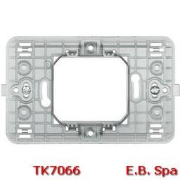 matix - supporto a 2 moduli centrati - BTICINO S.P.A TK7066
