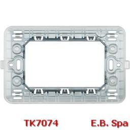 matix - supporto a 3 moduli - BTICINO S.P.A TK7074