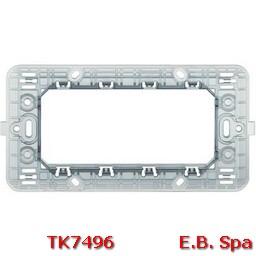 matix - supporto a 4 moduli - BTICINO S.P.A TK7496