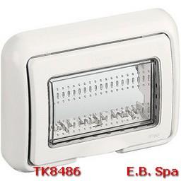 idrobox matix- coperchio IP55 3P bianco - BTICINO S.P.A TK8486