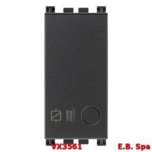Attuatore connesso IoT 16A grigio - VIMAR SPA VX3561