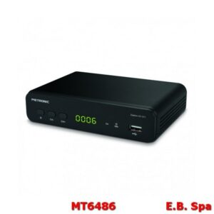Decoder DTT ZAPBOX DVB-T2 HEVC HD-SP.1 - Nero - METRONIC ITALIA SRL MT6627