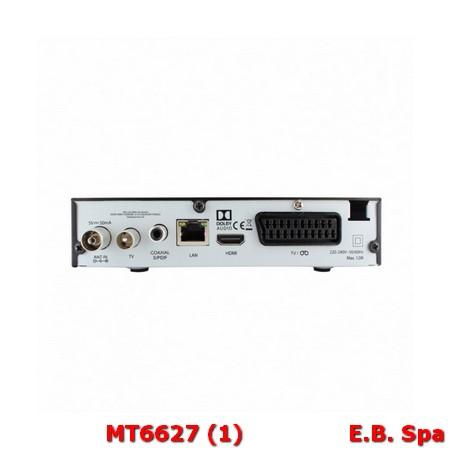 Decoder DTT DVB-T2 HEVC - ASTRELL - METRONIC ITALIA SRL MT6486