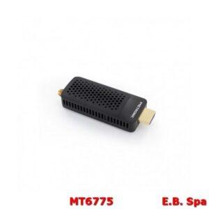 Decoder DTT plug-in HDMI DVB-T2 HEVC - nero - METRONIC ITALIA SRL MT6775